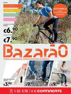 Bazarão - 18 de Outubro a 24 de Outubro