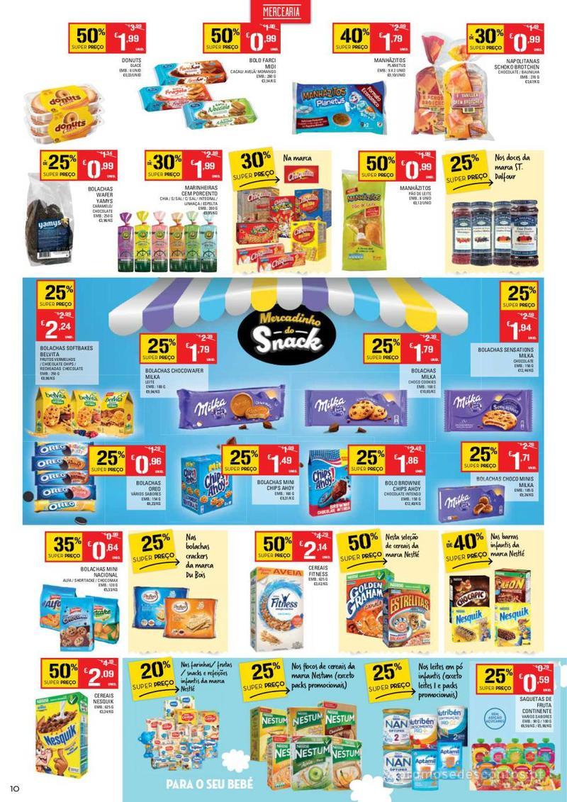 Folheto Continente Tudo aos preços mais baixos - Lojas Bom dia - 14 de Maio a 20 de Maio - página 10
