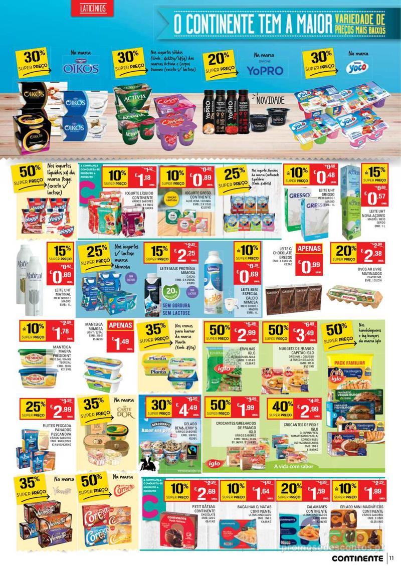 Folheto Continente Tudo aos preços mais baixos - Lojas Bom dia - 14 de Maio a 20 de Maio - página 11