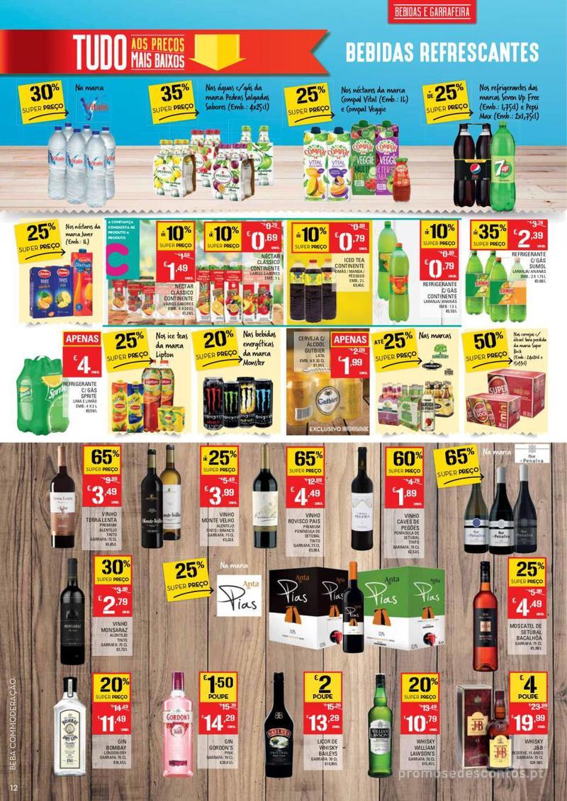 Folheto Continente Tudo aos preços mais baixos - Lojas Bom dia - 14 de Maio a 20 de Maio - página 12