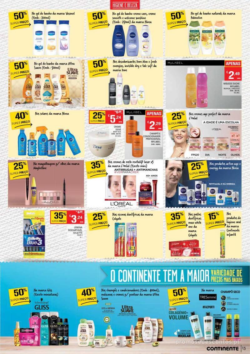 Folheto Continente Tudo aos preços mais baixos - Lojas Bom dia - 14 de Maio a 20 de Maio - página 13