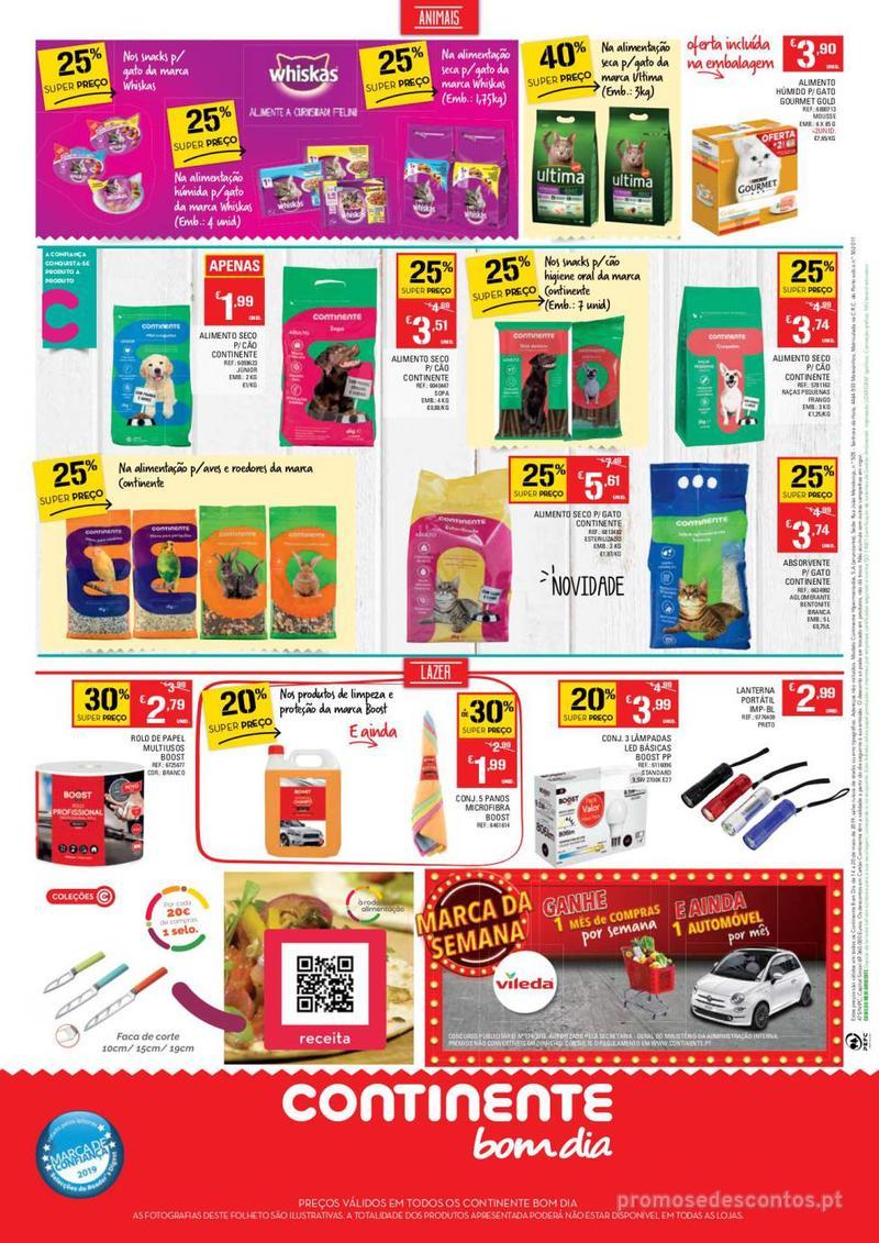 Folheto Continente Tudo aos preços mais baixos - Lojas Bom dia - 14 de Maio a 20 de Maio - página 16