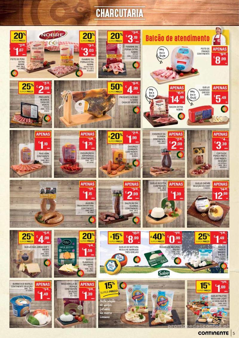 Folheto Continente Tudo aos preços mais baixos - Lojas Bom dia - 14 de Maio a 20 de Maio - página 5