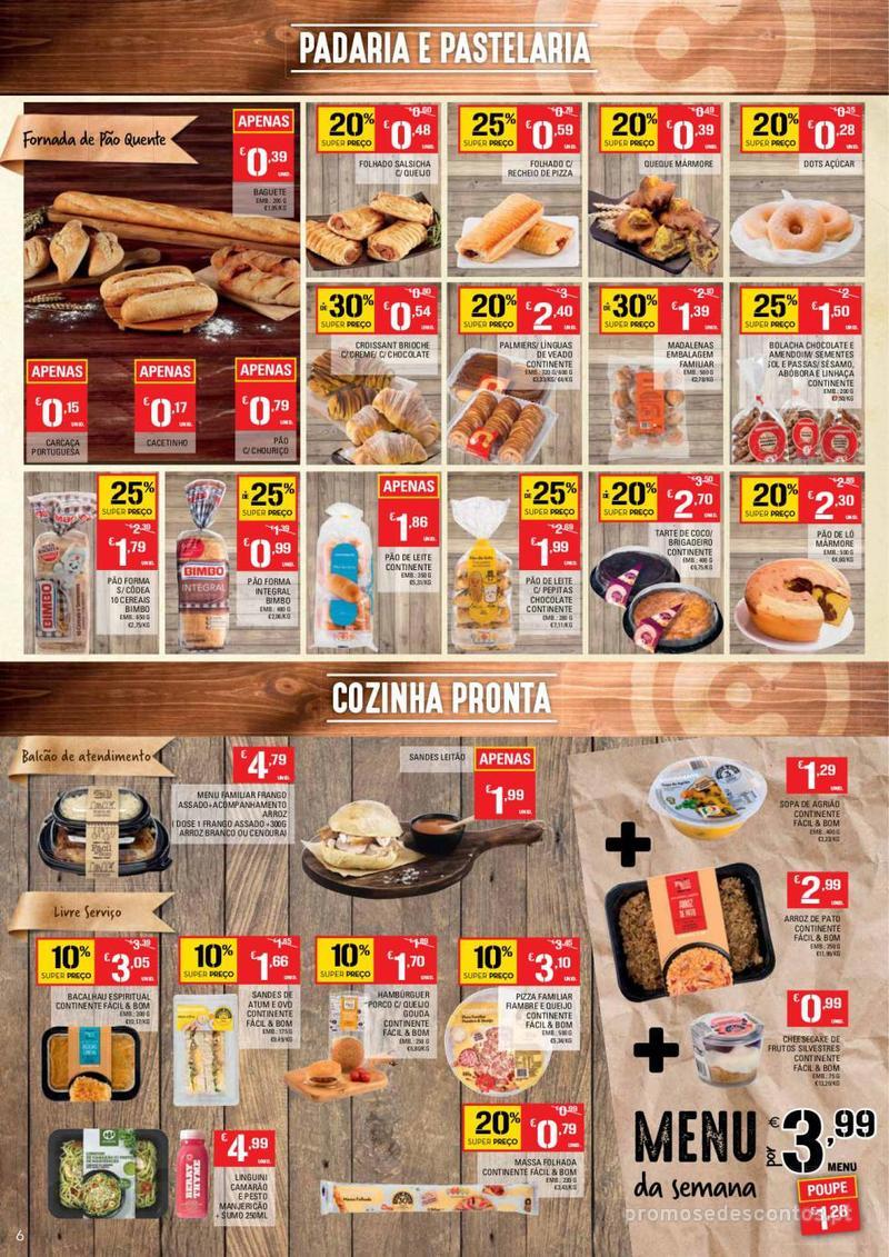 Folheto Continente Tudo aos preços mais baixos - Lojas Bom dia - 14 de Maio a 20 de Maio - página 6