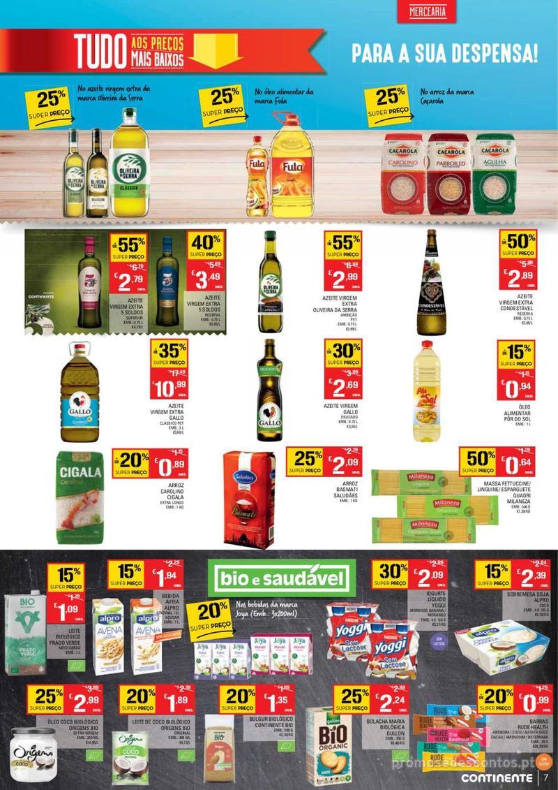 Folheto Continente Tudo aos preços mais baixos - Lojas Bom dia - 14 de Maio a 20 de Maio - página 7