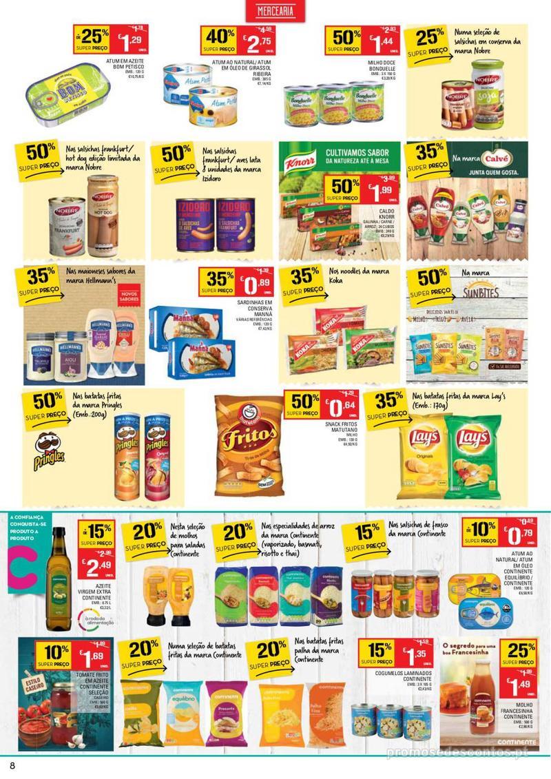 Folheto Continente Tudo aos preços mais baixos - Lojas Bom dia - 14 de Maio a 20 de Maio - página 8