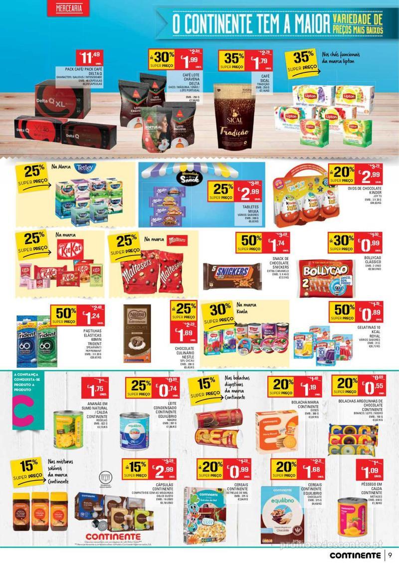 Folheto Continente Tudo aos preços mais baixos - Lojas Bom dia - 14 de Maio a 20 de Maio - página 9