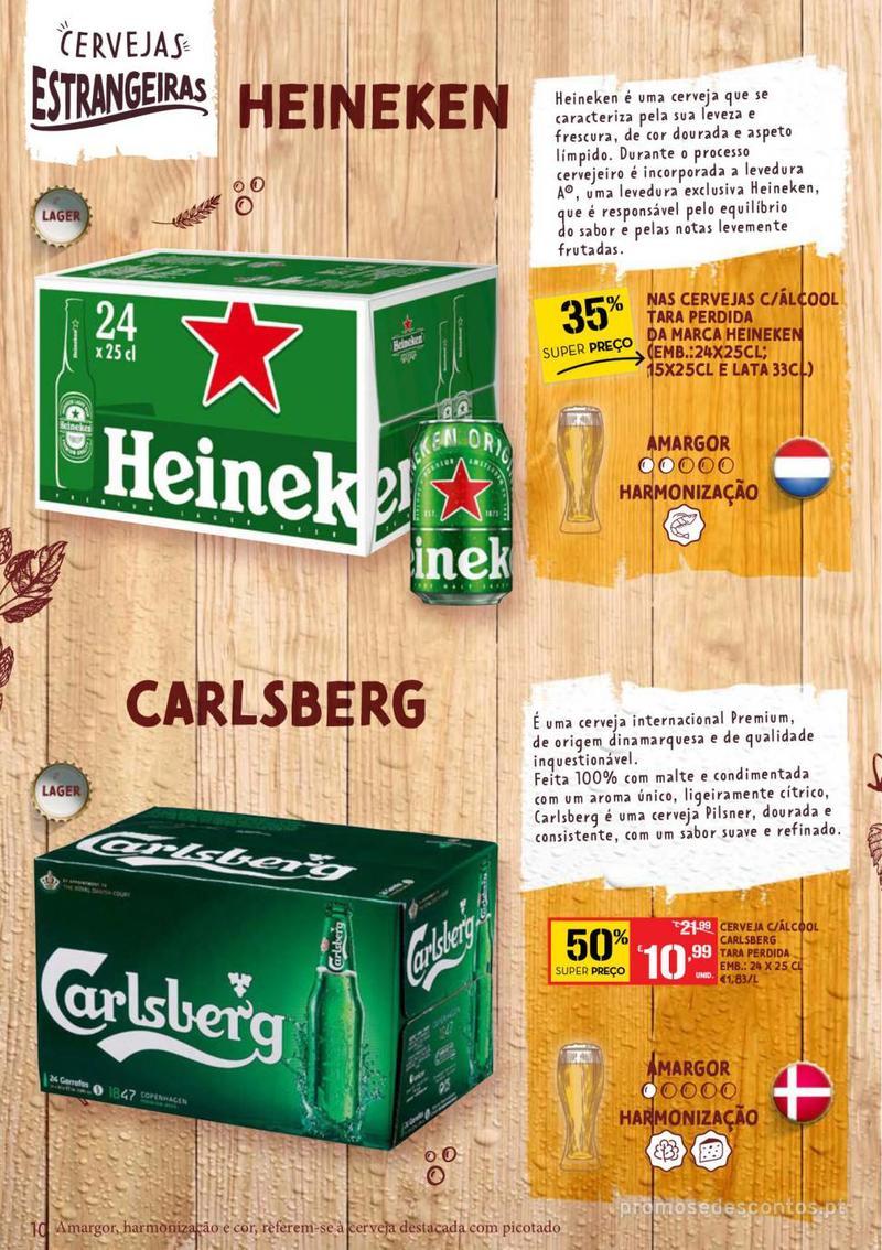 Folheto Continente Guia de Cervejas - 20 de Agosto a 2 de Setembro - página 10