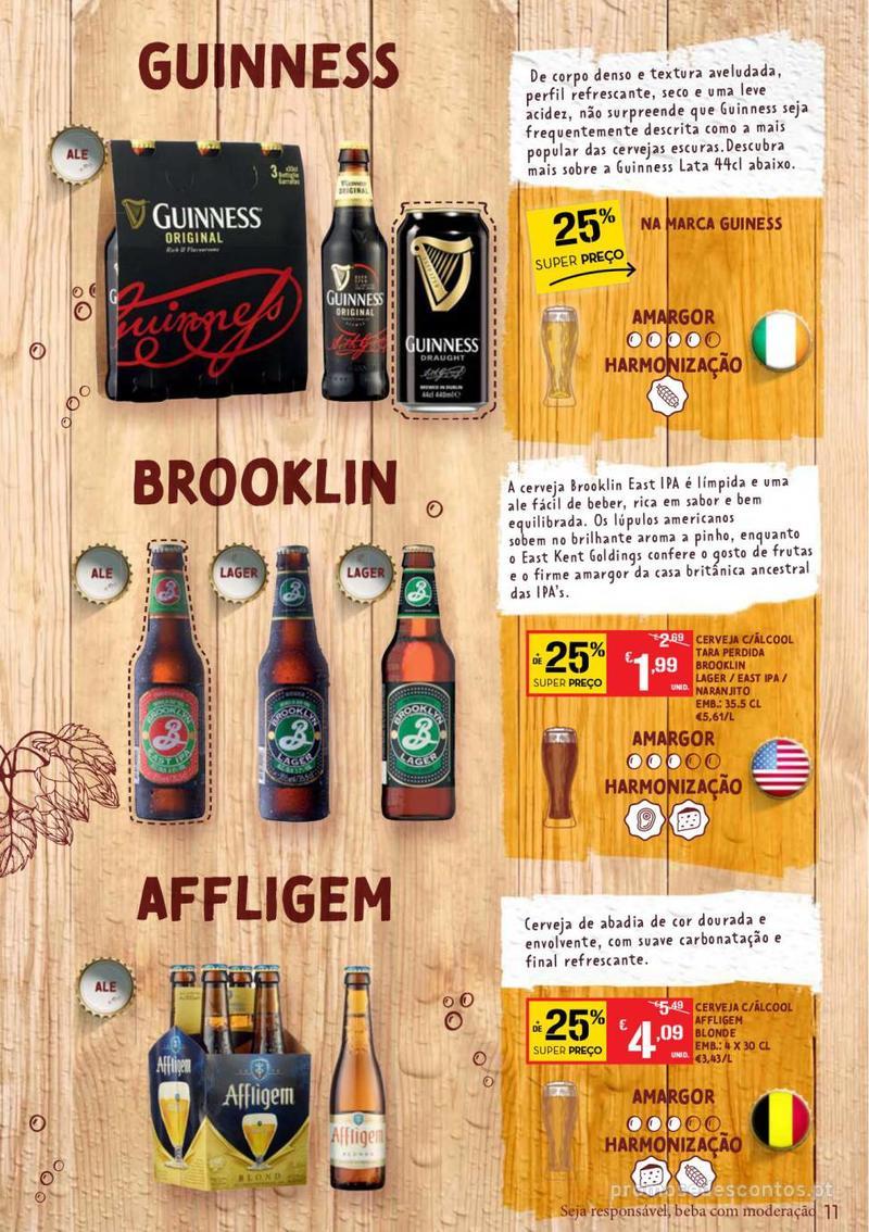 Folheto Continente Guia de Cervejas - 20 de Agosto a 2 de Setembro - página 11
