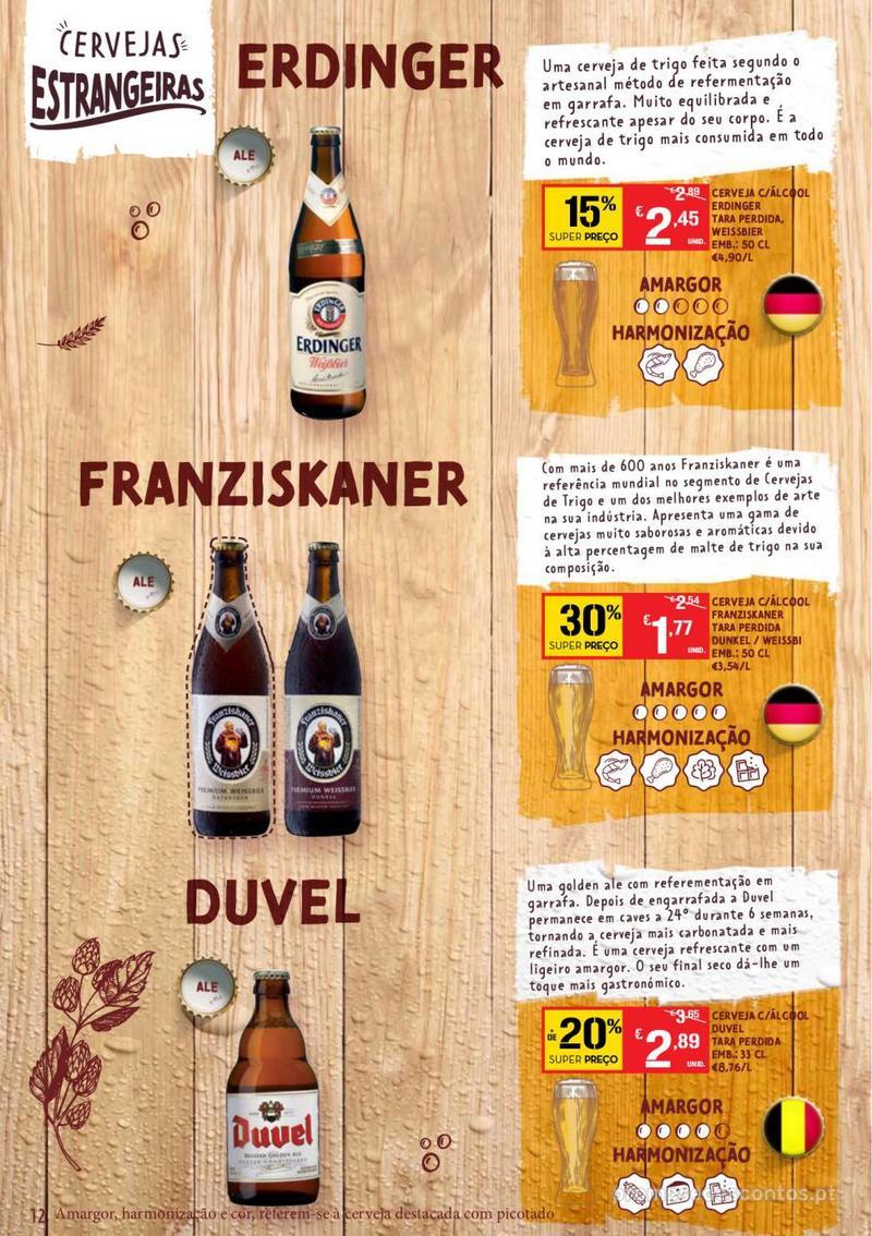 Folheto Continente Guia de Cervejas - 20 de Agosto a 2 de Setembro - página 12
