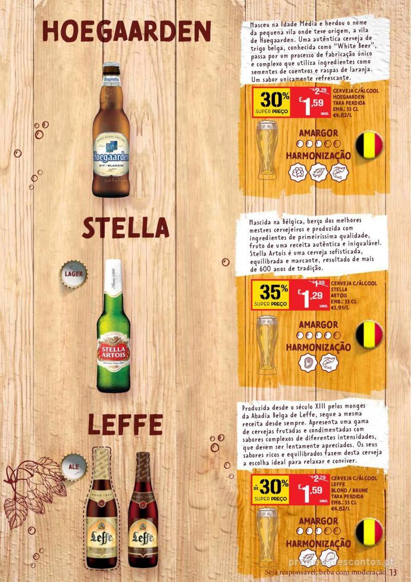 Folheto Continente Guia de Cervejas - 20 de Agosto a 2 de Setembro - página 13