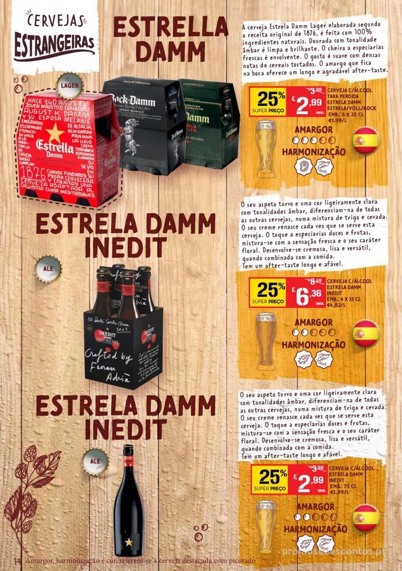 Folheto Continente Guia de Cervejas - 20 de Agosto a 2 de Setembro - página 14