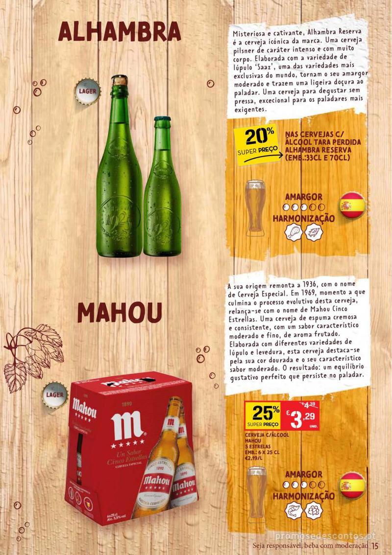 Folheto Continente Guia de Cervejas - 20 de Agosto a 2 de Setembro - página 15