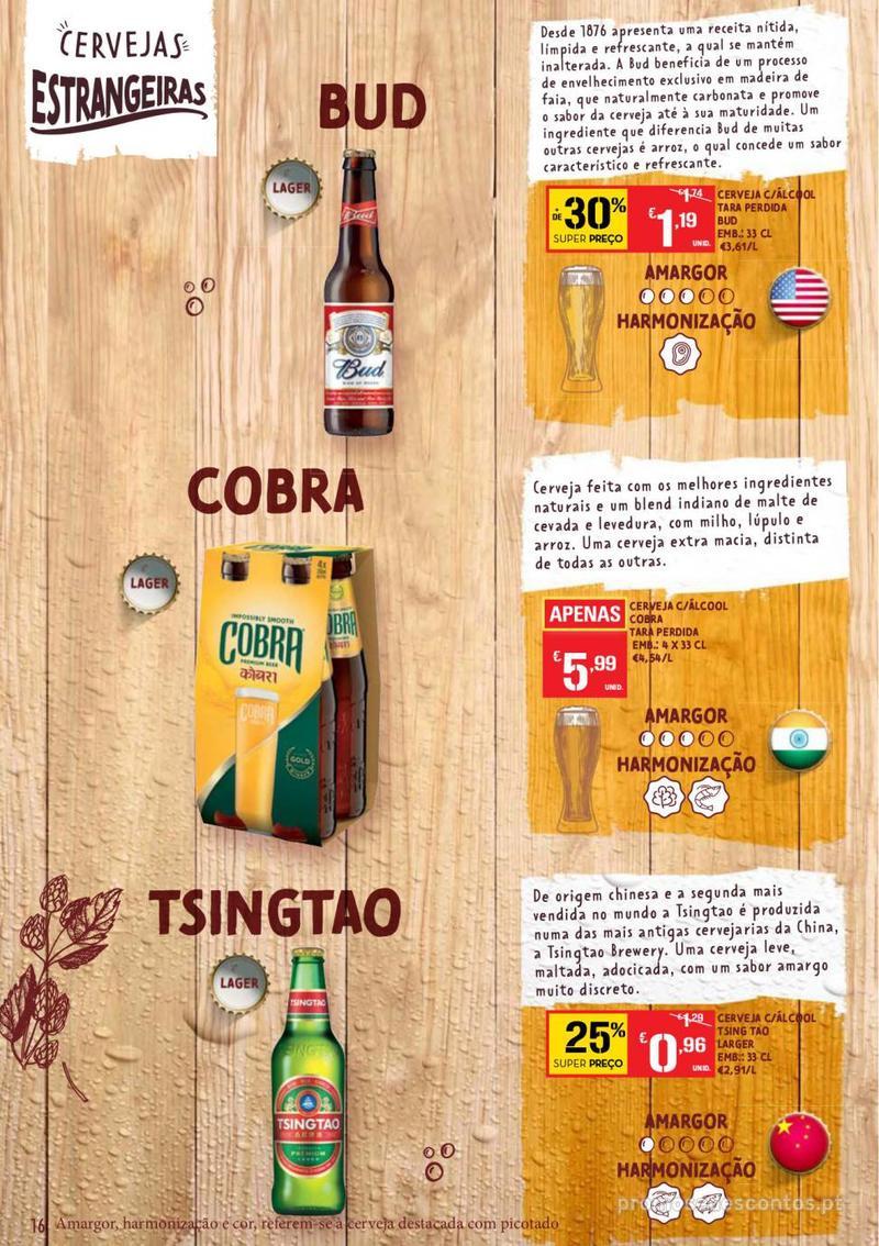Folheto Continente Guia de Cervejas - 20 de Agosto a 2 de Setembro - página 16