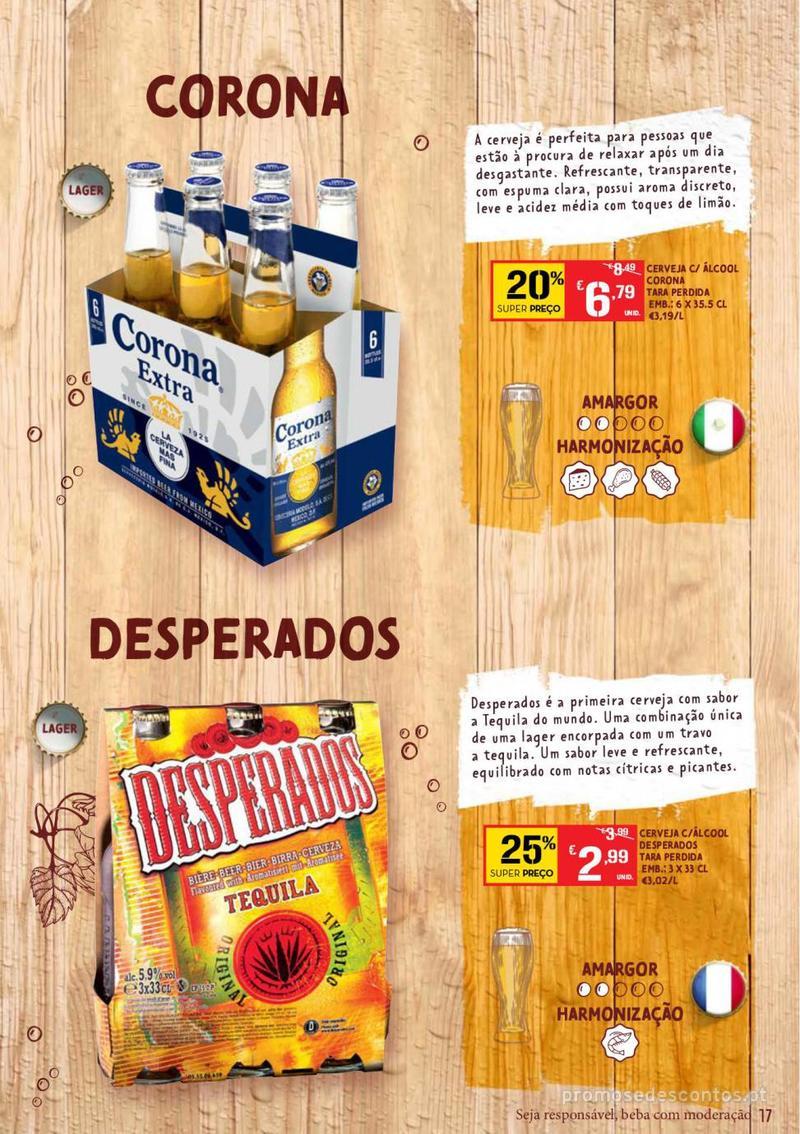 Folheto Continente Guia de Cervejas - 20 de Agosto a 2 de Setembro - página 17