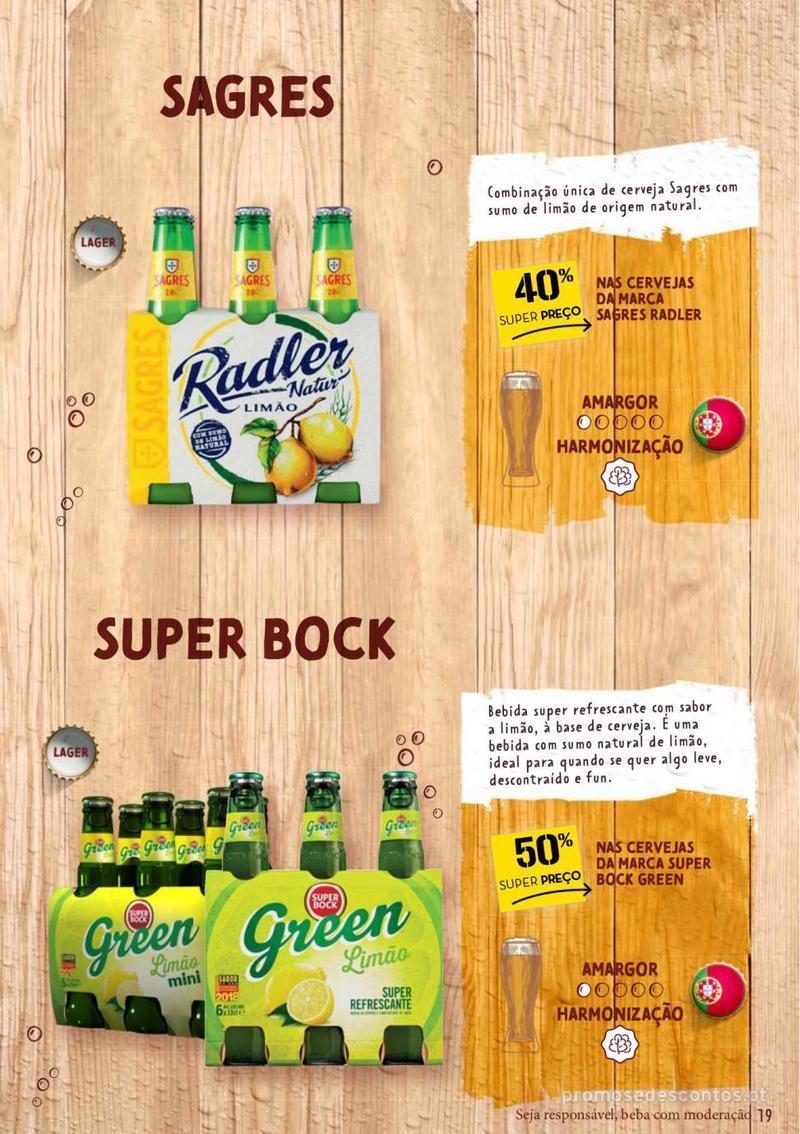 Folheto Continente Guia de Cervejas - 20 de Agosto a 2 de Setembro - página 19