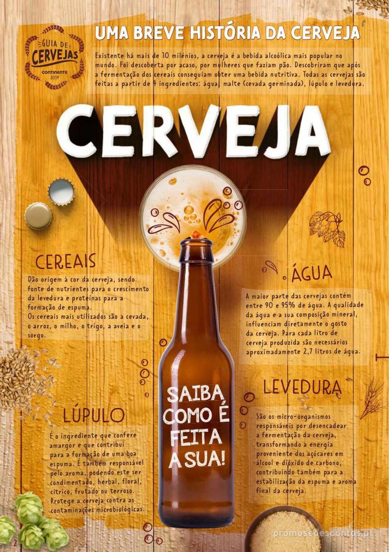 Folheto Continente Guia de Cervejas - 20 de Agosto a 2 de Setembro - página 2