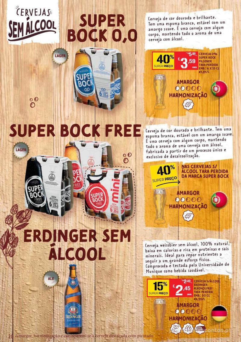 Folheto Continente Guia de Cervejas - 20 de Agosto a 2 de Setembro - página 20