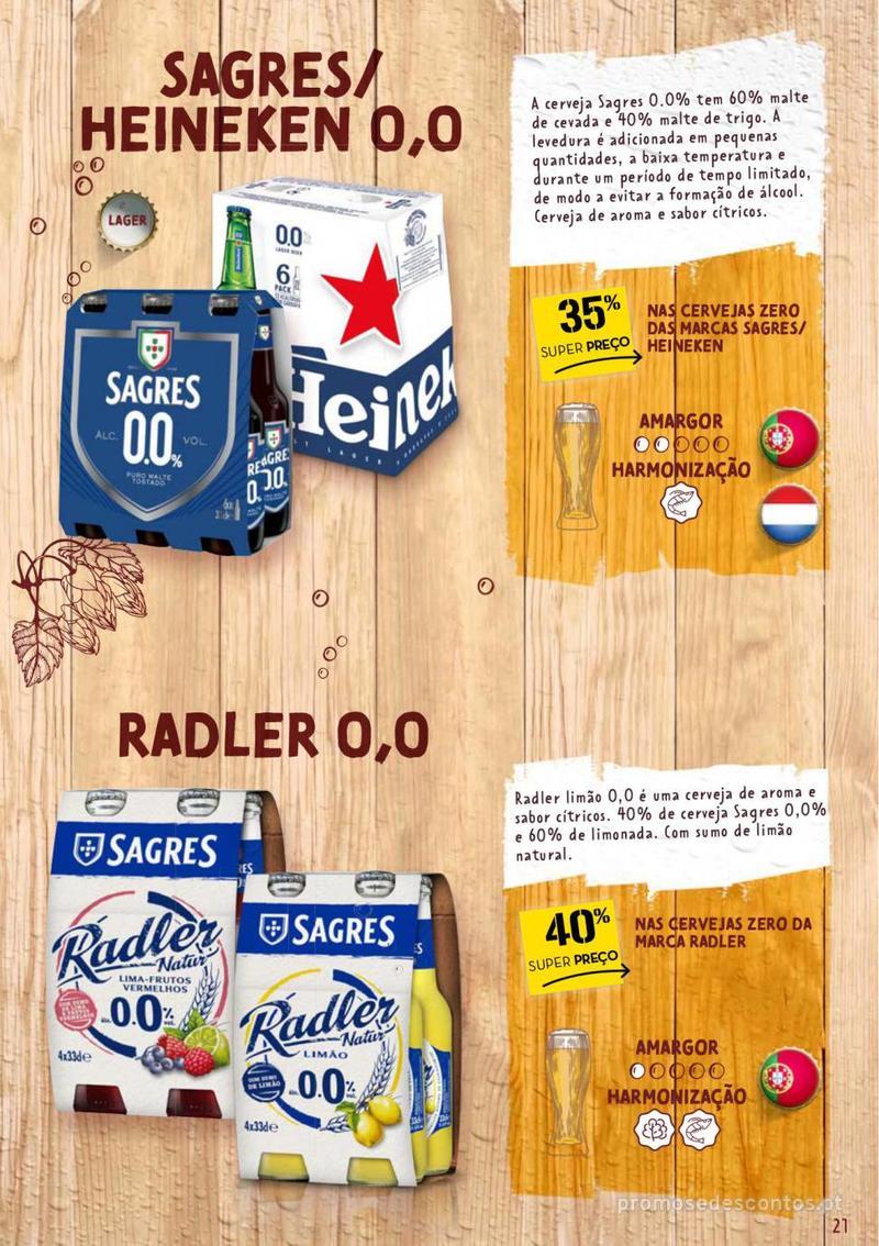 Folheto Continente Guia de Cervejas - 20 de Agosto a 2 de Setembro - página 21