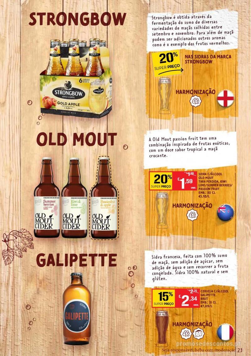 Folheto Continente Guia de Cervejas - 20 de Agosto a 2 de Setembro - página 23