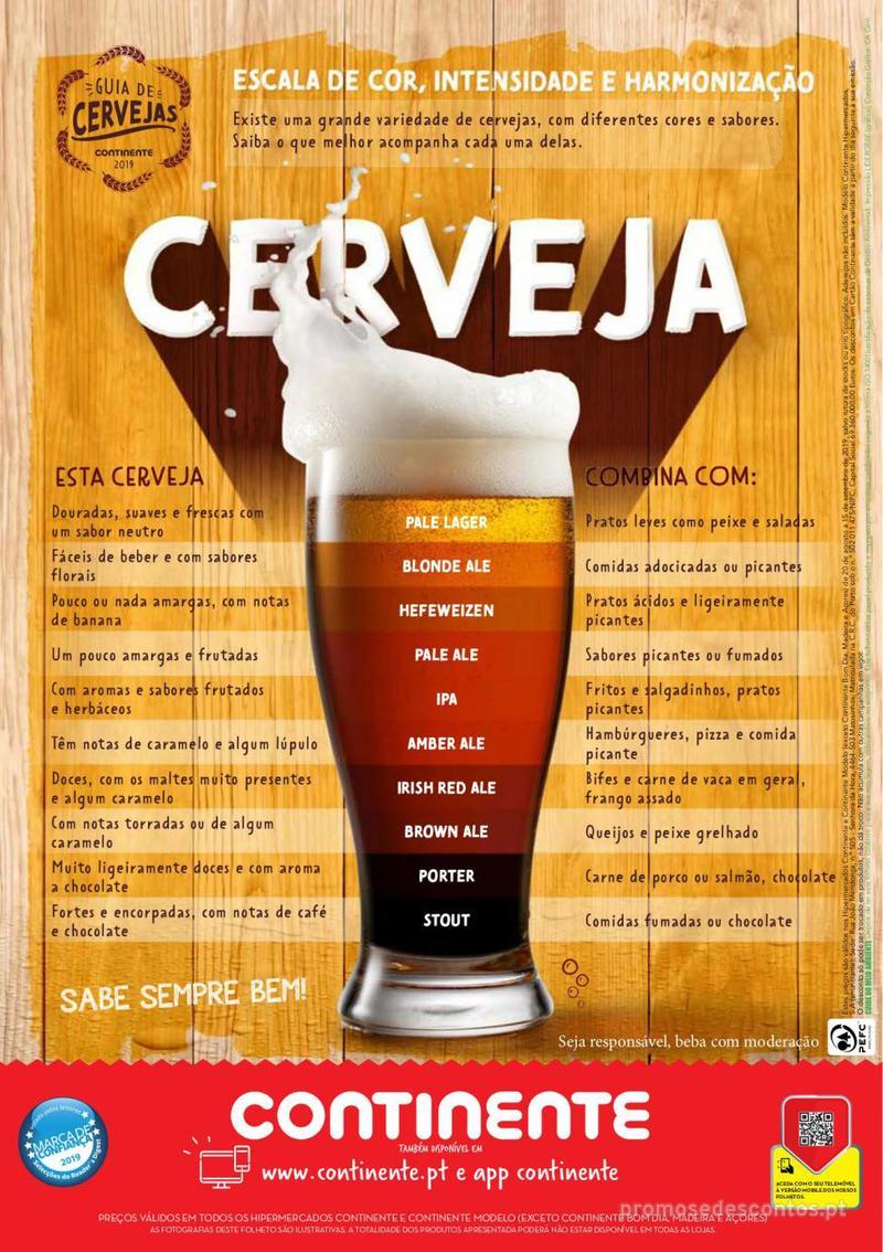 Folheto Continente Guia de Cervejas - 20 de Agosto a 2 de Setembro - página 24