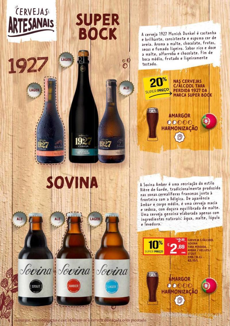 Folheto Continente Guia de Cervejas - 20 de Agosto a 2 de Setembro - página 4