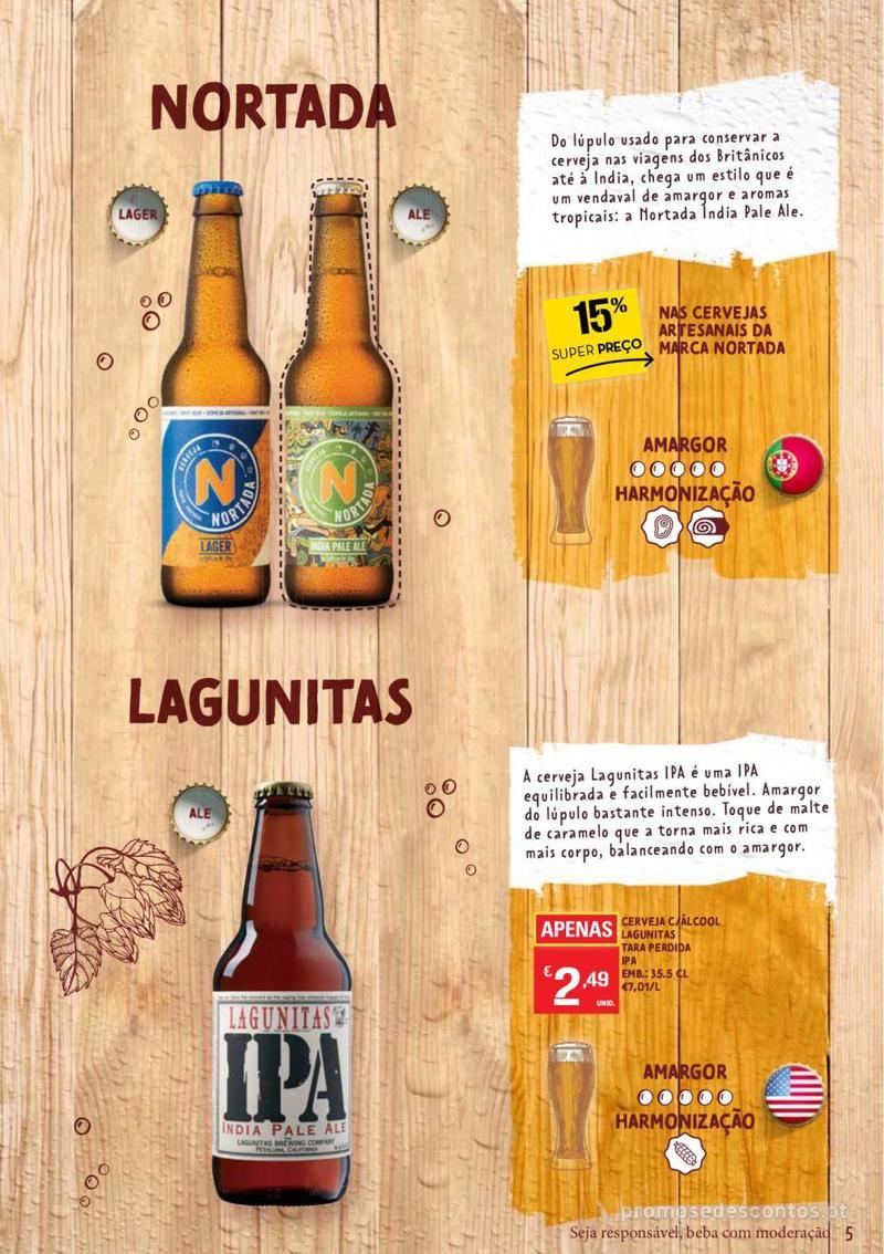 Folheto Continente Guia de Cervejas - 20 de Agosto a 2 de Setembro - página 5
