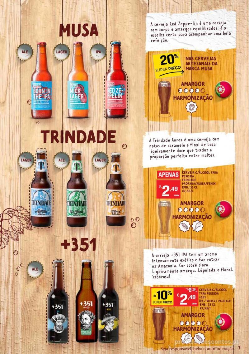 Folheto Continente Guia de Cervejas - 20 de Agosto a 2 de Setembro - página 7