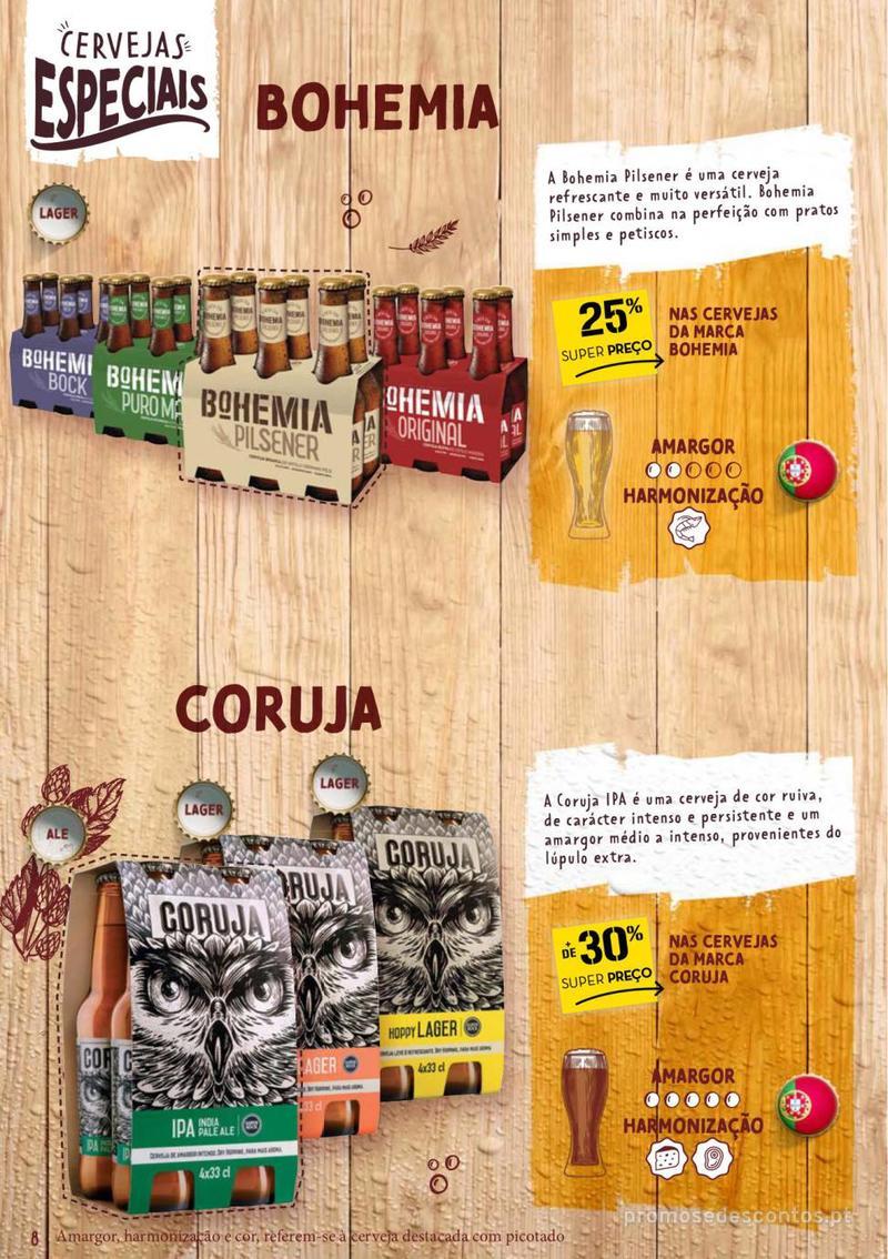 Folheto Continente Guia de Cervejas - 20 de Agosto a 2 de Setembro - página 8