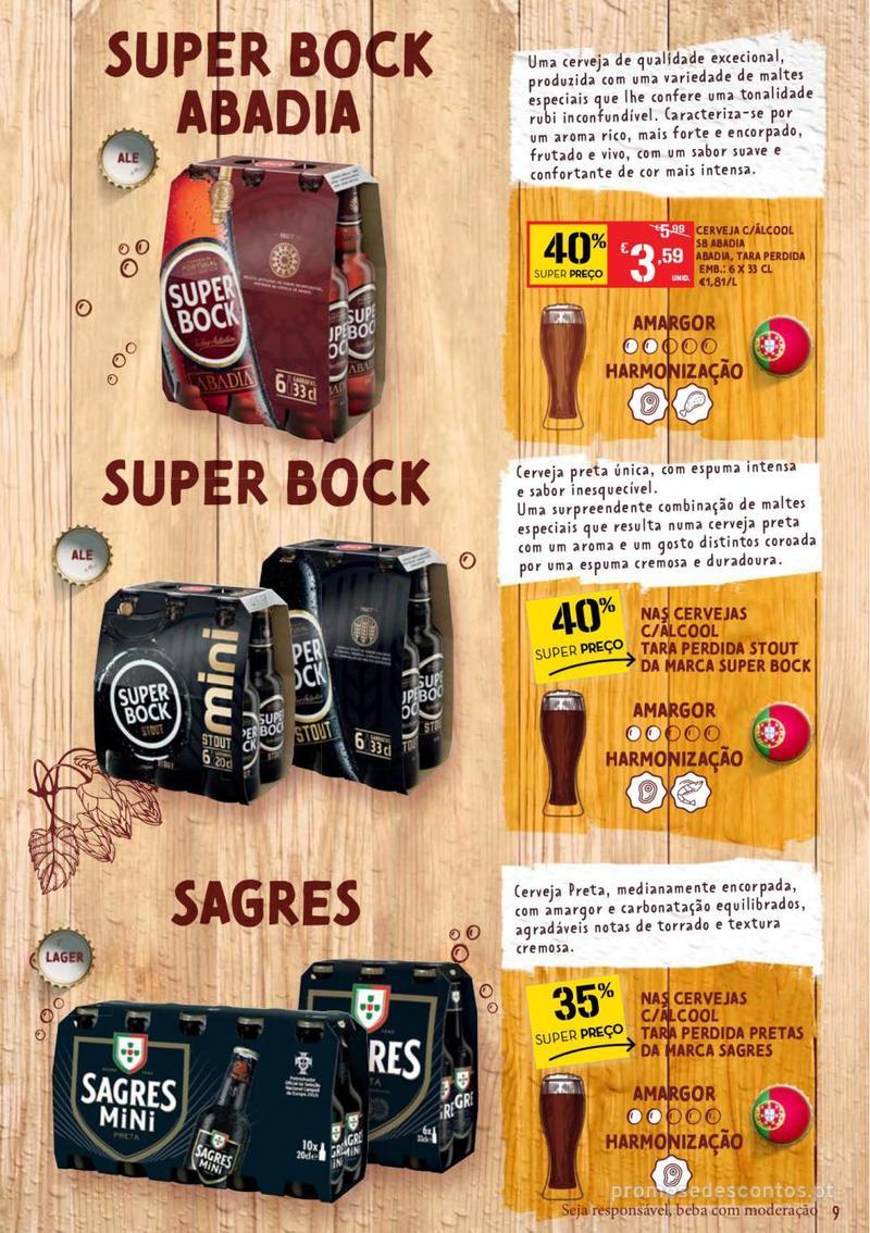 Folheto Continente Guia de Cervejas - 20 de Agosto a 2 de Setembro - página 9