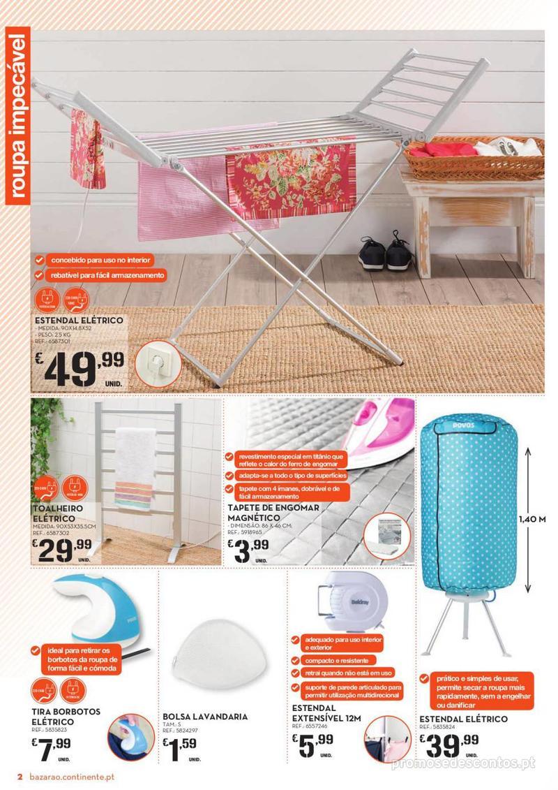Folheto Continente Bazarão - 8 de Janeiro a 14 de Janeiro - página 2