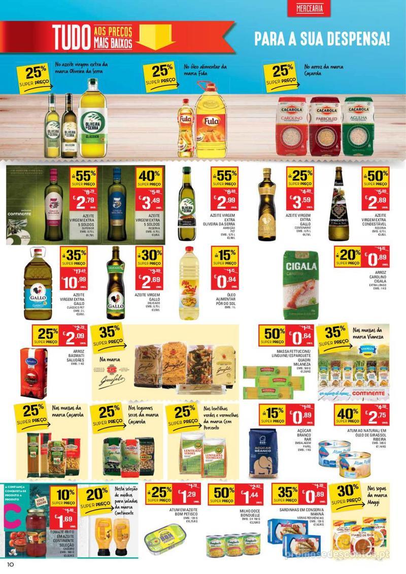 Folheto Continente Tudo aos preços mais baixos - 14 de Maio a 20 de Maio - página 10