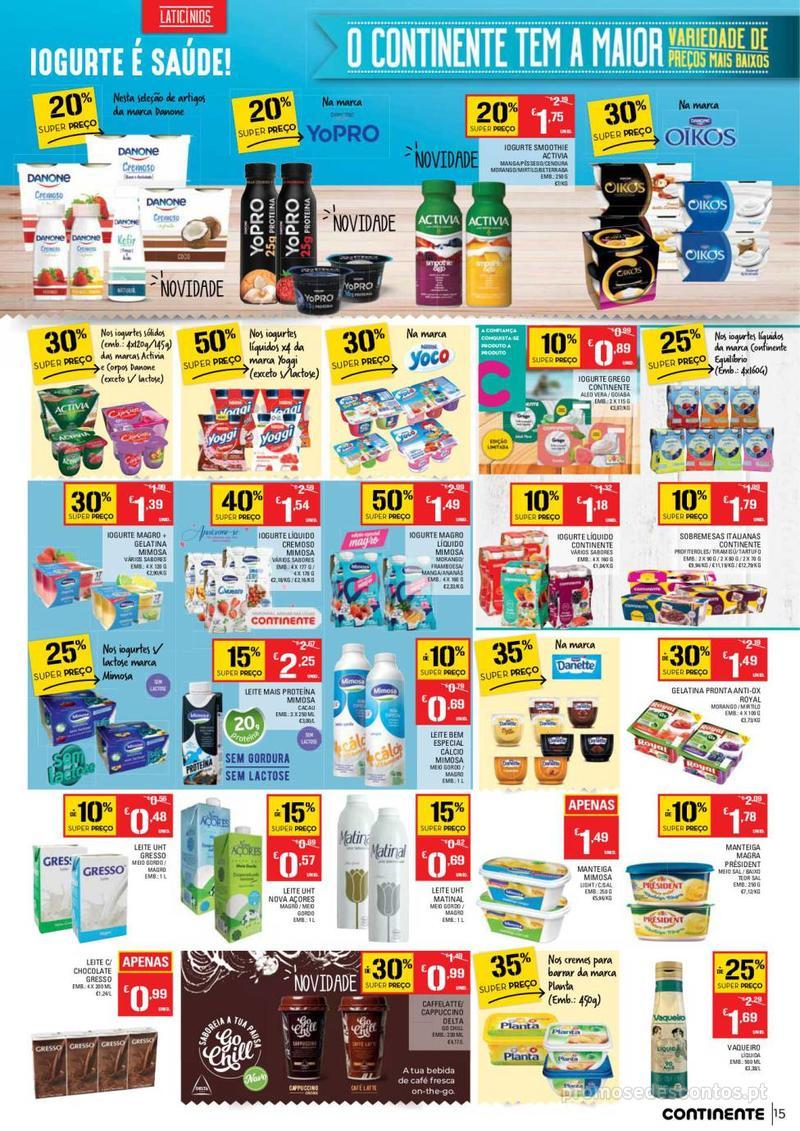 Folheto Continente Tudo aos preços mais baixos - 14 de Maio a 20 de Maio - página 15