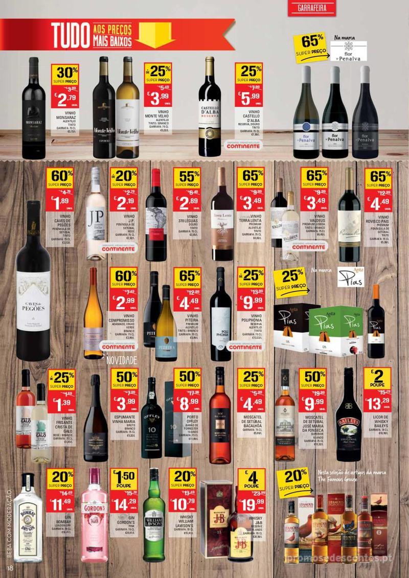 Folheto Continente Tudo aos preços mais baixos - 14 de Maio a 20 de Maio - página 18
