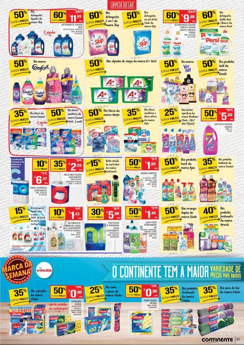 Folheto Continente Tudo aos preços mais baixos - 14 de Maio a 20 de Maio - página 21