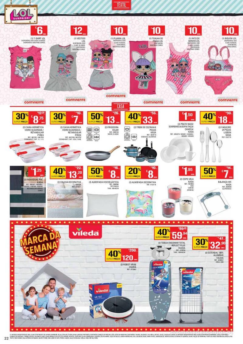 Folheto Continente Tudo aos preços mais baixos - 14 de Maio a 20 de Maio - página 22