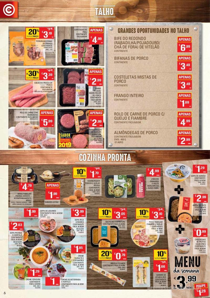 Folheto Continente Tudo aos preços mais baixos - 14 de Maio a 20 de Maio - página 6