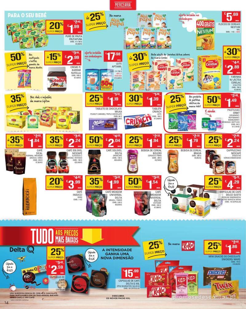 Folheto Continente Tudo aos preços mais baixos - Madeira - 13 de Agosto a 19 de Agosto pág. 14