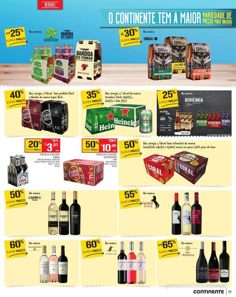 Folheto Continente Tudo aos preços mais baixos - Madeira - 13 de Agosto a 19 de Agosto pág. 19