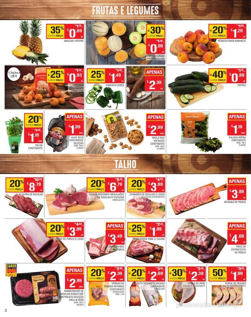 Folheto Continente Tudo aos preços mais baixos - Madeira - 13 de Agosto a 19 de Agosto pág. 2