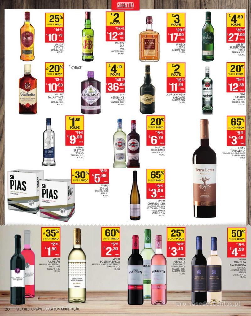 Folheto Continente Tudo aos preços mais baixos - Madeira - 13 de Agosto a 19 de Agosto pág. 20