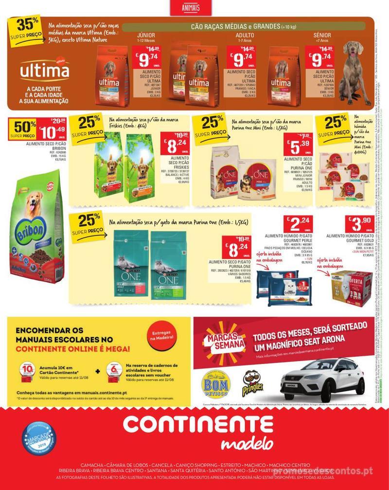 Folheto Continente Tudo aos preços mais baixos - Madeira - 13 de Agosto a 19 de Agosto pág. 24