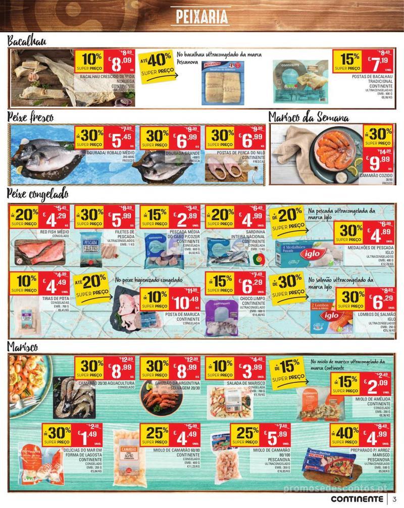 Folheto Continente Tudo aos preços mais baixos - Madeira - 13 de Agosto a 19 de Agosto pág. 3