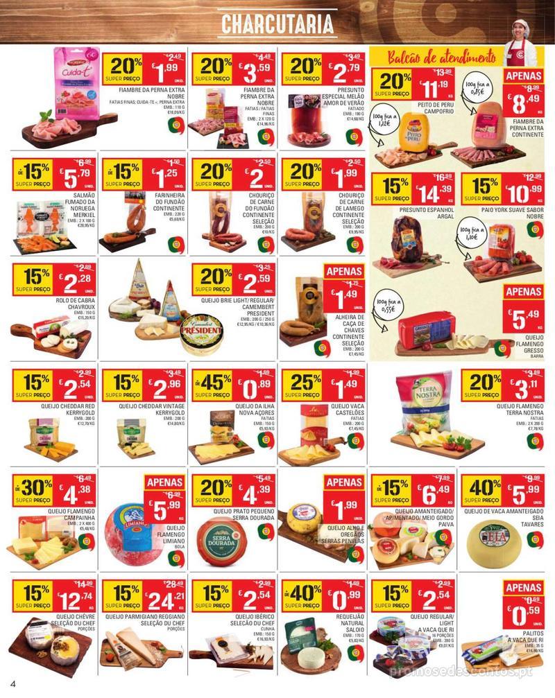 Folheto Continente Tudo aos preços mais baixos - Madeira - 13 de Agosto a 19 de Agosto pág. 4