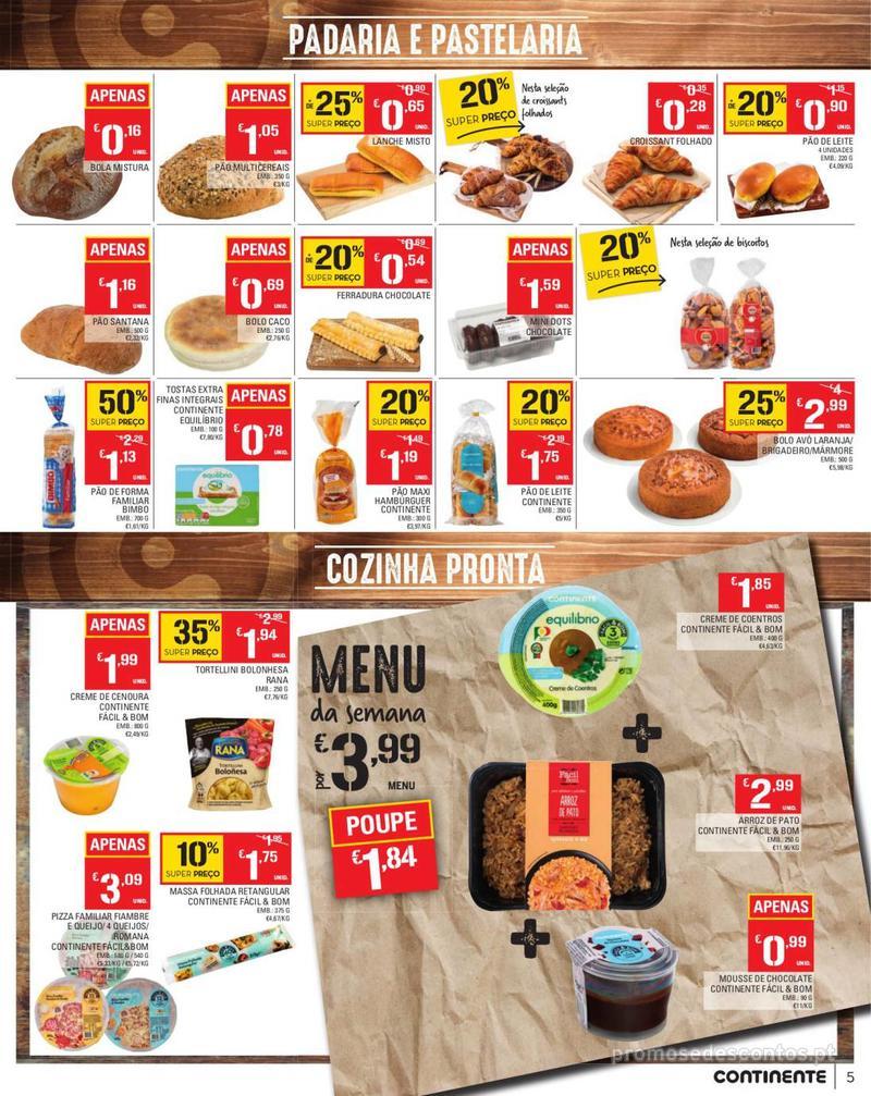 Folheto Continente Tudo aos preços mais baixos - Madeira - 13 de Agosto a 19 de Agosto pág. 5