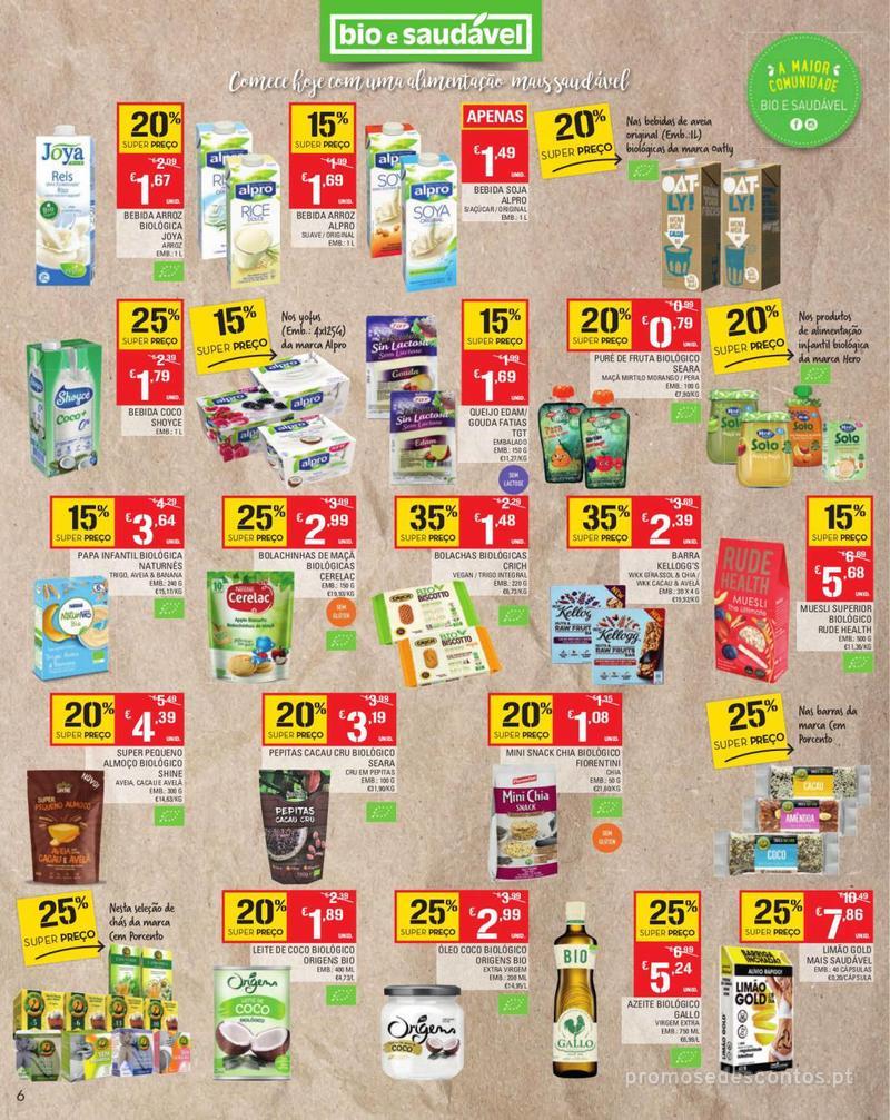 Folheto Continente Tudo aos preços mais baixos - Madeira - 13 de Agosto a 19 de Agosto pág. 6
