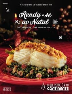 Renda-se ao Natal Take away - 19 de Novembro a 31 de Dezembro