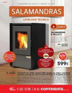 Salamandras - 1 de Novembro a 31 de Janeiro