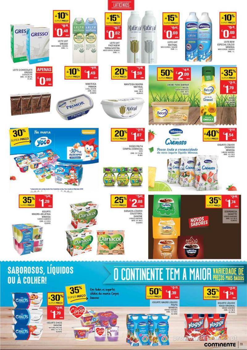 Folheto Continente Tudo aos preços mais baixos - Continente Bom dia - 8 de Janeiro a 14 de Janeiro - página 11