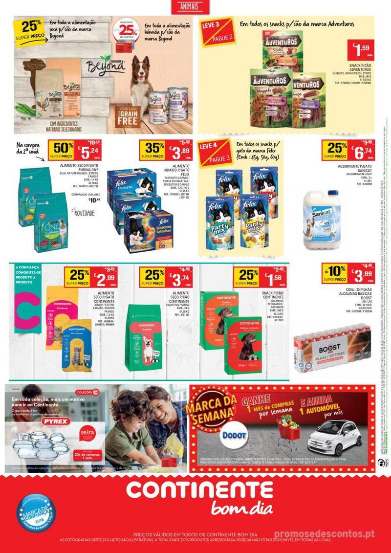 Folheto Continente Tudo aos preços mais baixos - Continente Bom dia - 8 de Janeiro a 14 de Janeiro - página 16